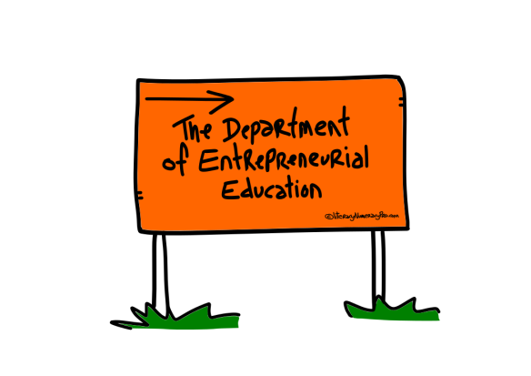 01 The department of Entrepreneurial Education 2.0