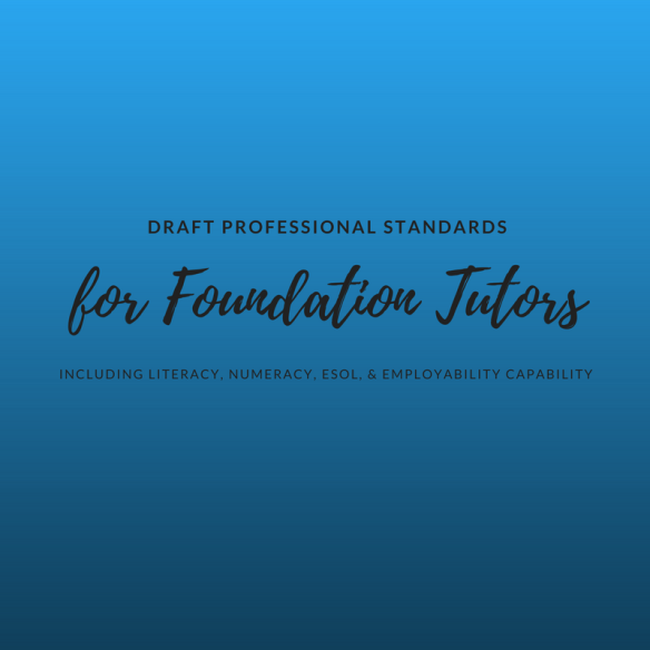 Draft Professional Standards